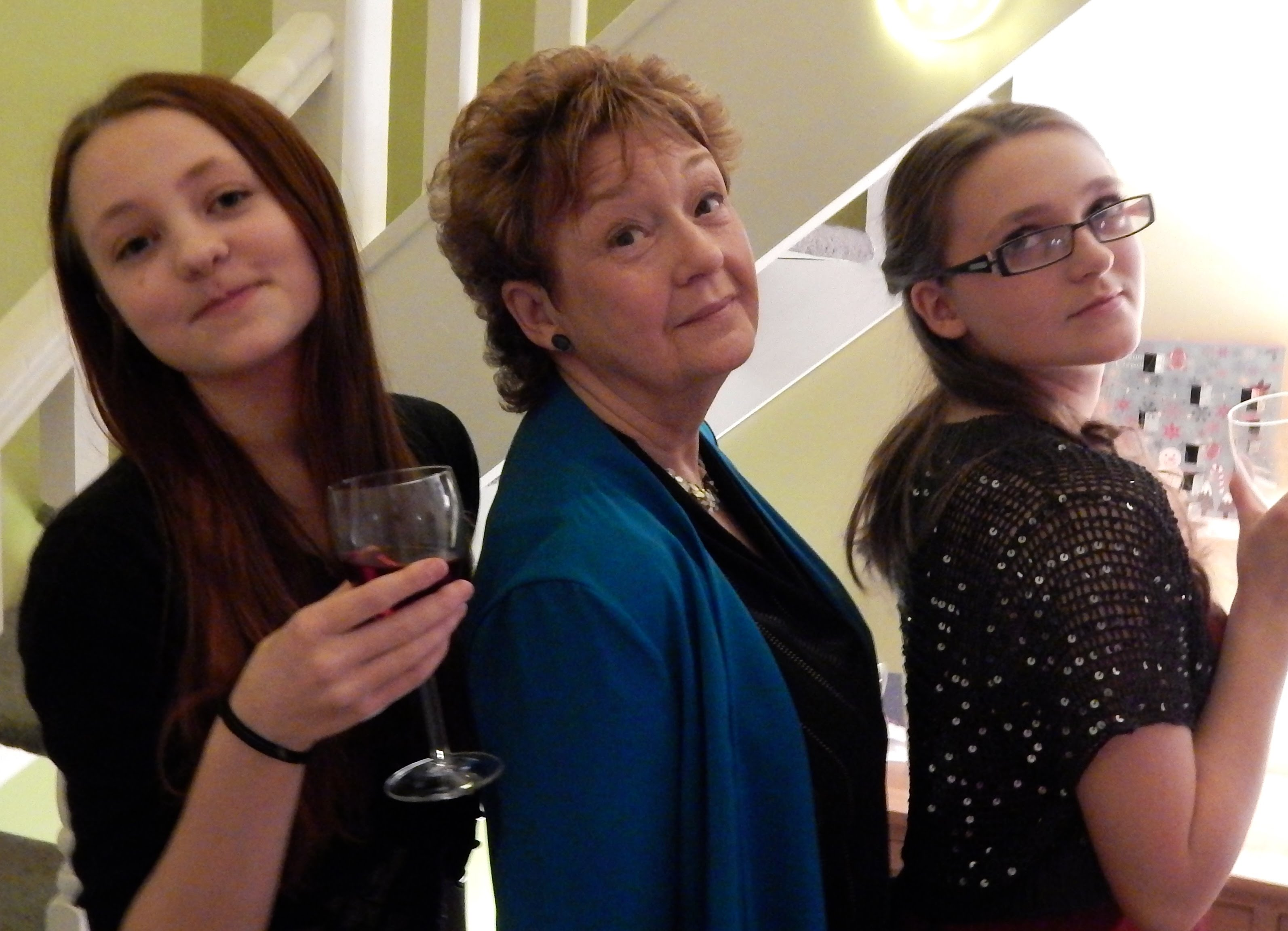 me with lovely granddaughters